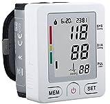livemed Digital Handgelenk Blutdruckmessgerät mit Einfache Bedienung nur zu Start und Stop Messung–Kommt mit kostenlosen Fall–Zwei Benutzer Modus bis zu 90Records–UK Garantie–Bluetooth Konnektivität–Apple iPhone IOS, Android kompatibel