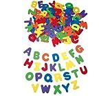 EDUPLAY 200-048 Moosgummi Buchstaben groß, bunt, 130-teilig (1 Set)