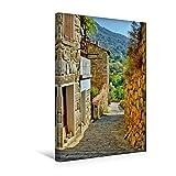 Premium Textil-Leinwand 30 x 45 cm Hoch-Format Sainte-Lucie-de-Tallano, Korsika | Wandbild, HD-Bild auf Keilrahmen, Fertigbild auf hochwertigem Vlies, Leinwanddruck von Annette Dupont (CALVENDO Orte)