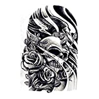 Fashion environmental protection large flower arm waterproof tattoo stickers