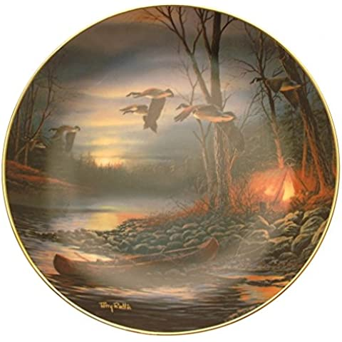 Wild Things Evening Glow Terry Redlin Piastra hj164