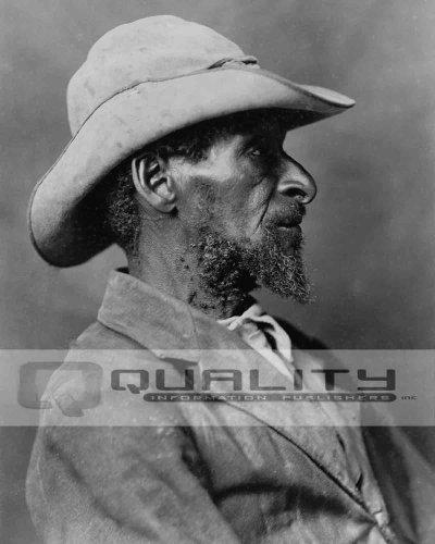 Quality Information Publishers, Inc. 1902Negro African American Cowboy Hochformat [8x 10Foto]