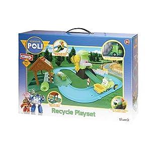 Rocco Juguetes 83155-Robocar Poli Recycle Playset
