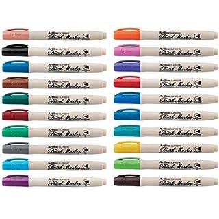 Artline Supreme Brush Marker Pens Assorted Colours - Pack 20