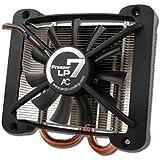 ARCTIC Freezer 7 LP - Ventilador de PC (Procesador, Enfriador, Socket T (LGA 775), Negro, Plata, Aluminio, 263 g)