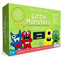 Piccoli mostri principianti Kit da cucito–Fantastico Regalo per Bambini e bambine dai 7ai 13, migliori Craft Kit e giocattoli educativi per bambini