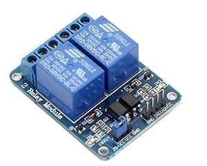 JMT 5V 2 canaux relais Module bouclier avec optocoupleur carte d'extension de Protection 10A