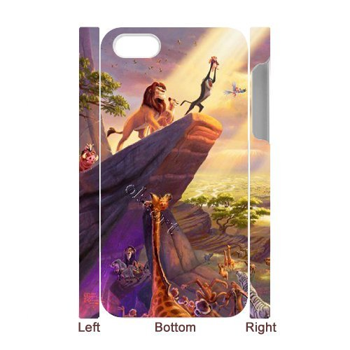 LP-LG Phone Case Of Lion King For Iphone 5C [Pattern-6] Pattern-6