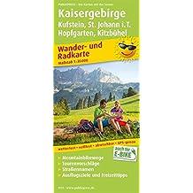 Kaisergebirge, Kufstein - St. Johann i.T., Hopfgarten - Kitzbühel: Wander- und Radkarte mit Ausflugszielen & Freizeittipps, wetterfest, reißfest, ... 1:35000 (Wander- und Radkarte / WuRK)