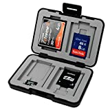 7dayshop Universal AntiShock & Water Resistant Memory Card Case for SD, Micro SD and Compact Flash