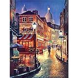 VVNASD Puzzles 1000 Pièces pour Enfant Street Light Night View Bois Jouets Jeux Amusants Jouets Grand Cadeau Éducatif pour Les Enfants