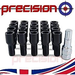 Precision 20 x Chrome Wheel Bolts for Ṿauxhall Astra PN.SFP-20BM17123