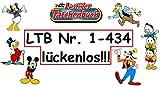 Die ultimative LTB-Sammlung! - Lustiges Taschenbuch durchgehend von Band Nr. 1 bis 434 - lückenlos! - Komplett 434 Comic-Bücher von euren Lieblingen aus Entenhausen - Von Nr. 1