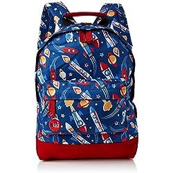 Mi-Pac Mini Backpack Print Mochila Tipo Casual, 33 cm, 10.5 litros, Space Blue