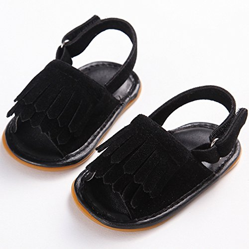 slip Schwarz Amcool Krippenschuhe Neugeboren Sandalen Krabbelschuhe Schuhe Baby Infant 1 Anti YxCq6OFw