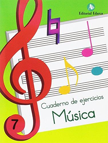 Música nº 7 cuaderno de música (musica)