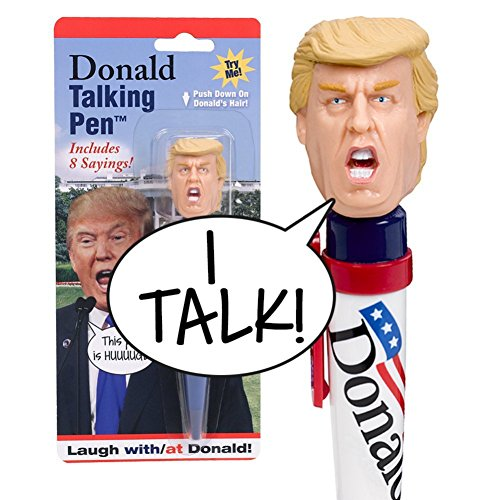 Preisvergleich Produktbild Donald Talking Pen - 8 Different Sayings - Trump's REAL VOICE - Just Click and Listen