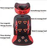 SHISHANG Großer Massagestuhl (zervikaler. Hals. Zurück. Taille. Hips) Massage Pad Multi-Funktions-elektrische Massagekissen Vibrationsmassage einstellbar Geschenk Gewicht 9 kg