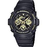 Casio Reloj Analogico-Digital para Hombre de Cuarzo con Correa en Resina AW-591GBX-1A9ER