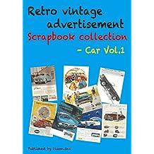 Retro vintage advertisement Scrapbook collection - Car Vol.1