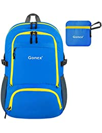 Gonex 30L Lightweight Packable Backpack Handy Small Daypack For Travel  Camping Hiking Cycling… a7ae4707c1ed0