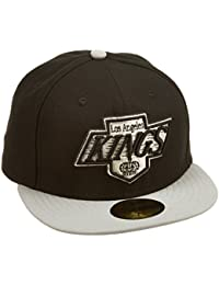 A NEW ERA rodmann gorra gorro NHL LA Kings Basic 59Fifty Team color Negro  negro Talla d15c1aa6ee9