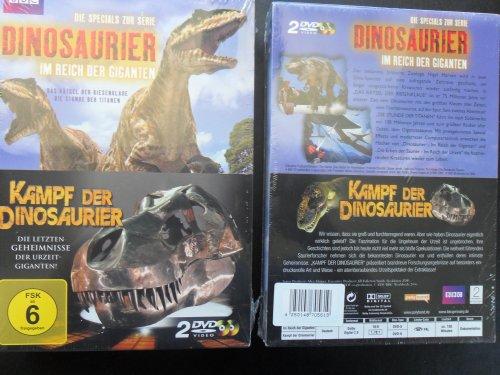 Kampf der Dinosaurier - Die Specials zur Serie Dinosaurier: Im Reich der Giganten (2 DVDs)