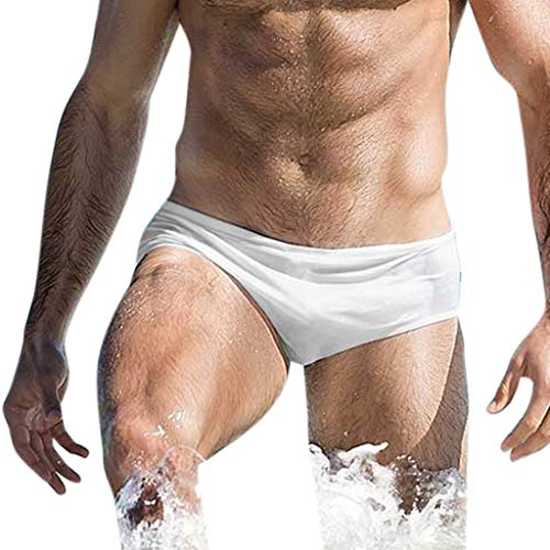 Vectry Traje Baño Hombre Vestidos De Baño Short De Baño Bañador Slip Bañador Waterpolo Hombre Bañadores...
