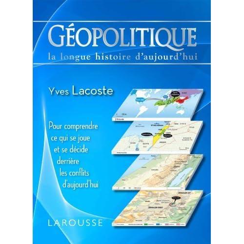 Géopolitique by Yves Lacoste (2012-09-26)