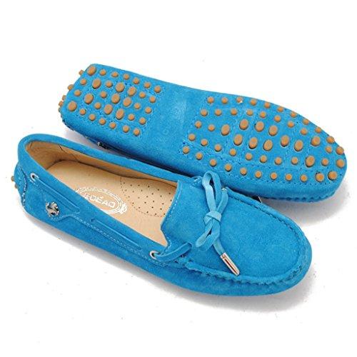 Meijili , Sandales Plateforme femme Bleu