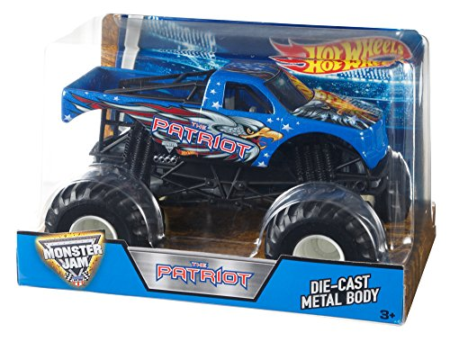 Hot Wheels Monster Jam 1:24 Patriot by Hot Wheels