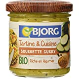 Bjorg Tartine et Cuisine-Courgette 135 g - Lot de 3