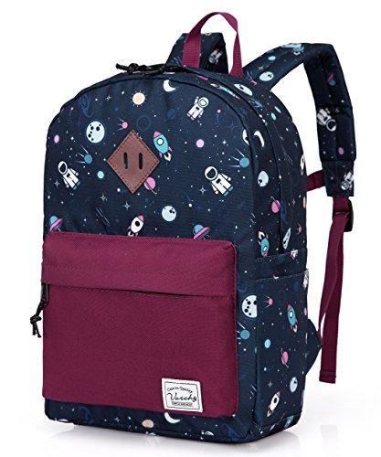 en, Schultasche Kleinen Schulranzen Jungen Buch Rucksack Rucksack für Kinder Rucksack mit Brustgurt (Spaß Rucksäcke)