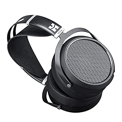 HIFIMAN HE5se Full-Size Over Ear Planar Magnetic Audiophile Adjustable Headphone Comfortable Earpads Open-Back Design Easy Cable Swapping