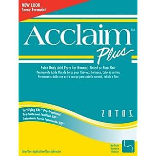 Acclaim Acid Extra Body Plus Hair Perm Kit - Extra Body Green Kit (Pack of 2)