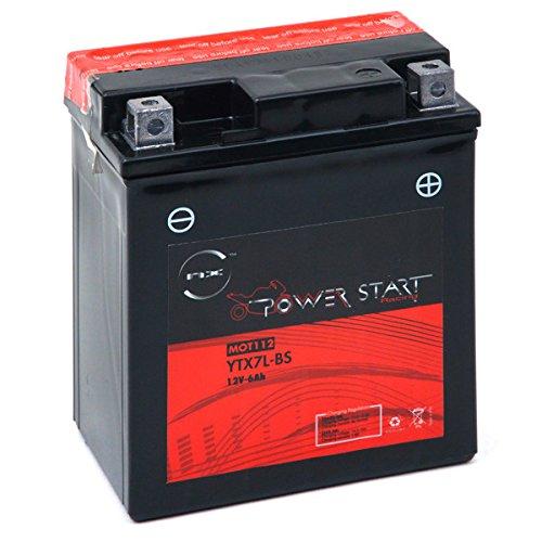 NX - Batteria moto YTX7L-BS / GTX7L-BS 12V 6Ah