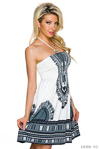 Conos -  Vestito  - Donna bianco / nero