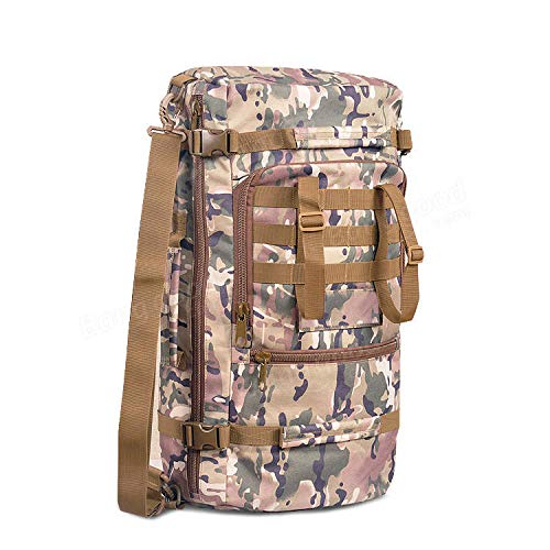 e1b6f58d6ee8b Anddod IPRee 60L Outdoor Tactical Rucksack Backpack Trekking Camping Hiking  Bag Pack - CP