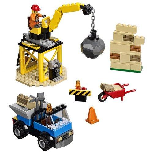 LEGO Juniors Set De 4 Ladrillos Creativos Multicolor 10667