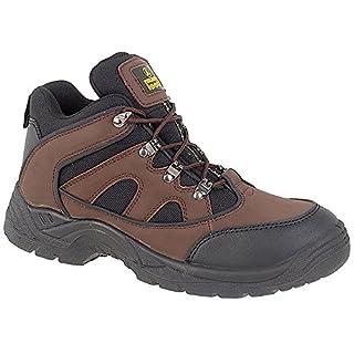 Amblers Unisex Steel FS152 SB-P Mid Boot/Mens Womens Boots (5 UK) (Brown)