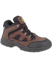 Footsure , Chaussures de randonnée basses pour femme Marron marron 40.5 - Marron - marron, 47 EUR EU