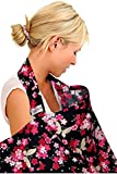 Best Amazon Nursing Covers - BebeChic.UK * Top Quality 100% Cotton * Breastfeeding Review