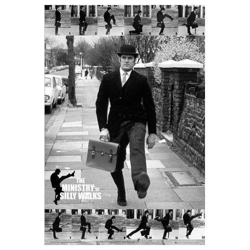 Monty Python Ministry of Silly Walks John Cleese großer Film-Poster-61x 91,5cm -