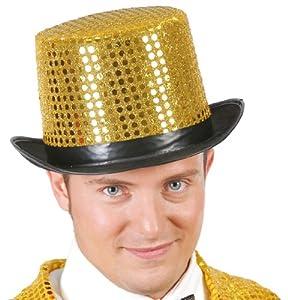 GUIRMA - Sombrero chistera oro