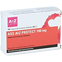 ASS protect 100 mg AbZ Tabletten, 100 St. preisvergleich bei billige-tabletten.eu