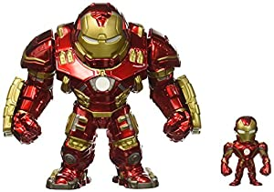 Jada- Metals Die Cast Figures Hulkbuster & Iron Man, Multicolor (97956)