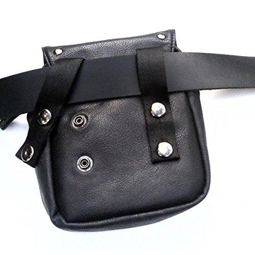 Kilt Tasche mit Thorshammer. (schwarz) rot