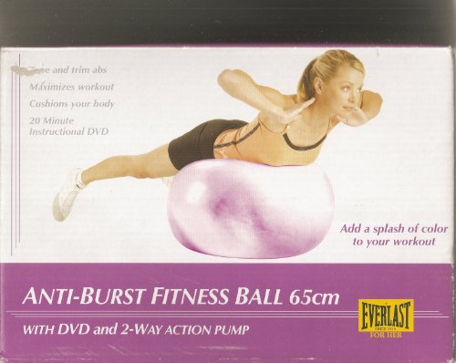 65cm Everlast Burst – Exercise Balls & Accessories
