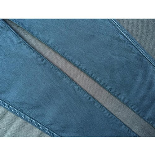 Zhhlinyuan Retro Personality Pants Hole Stretch High Waisted Street Denim Jeans Schön für Frauen Blue
