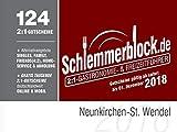 Schlemmerblock Neunkirchen-St. Wendel 2018
